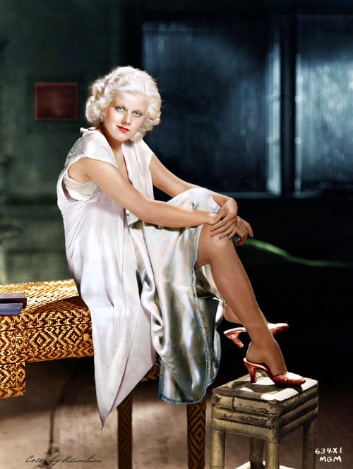 Jean Harlow feet awesome pic