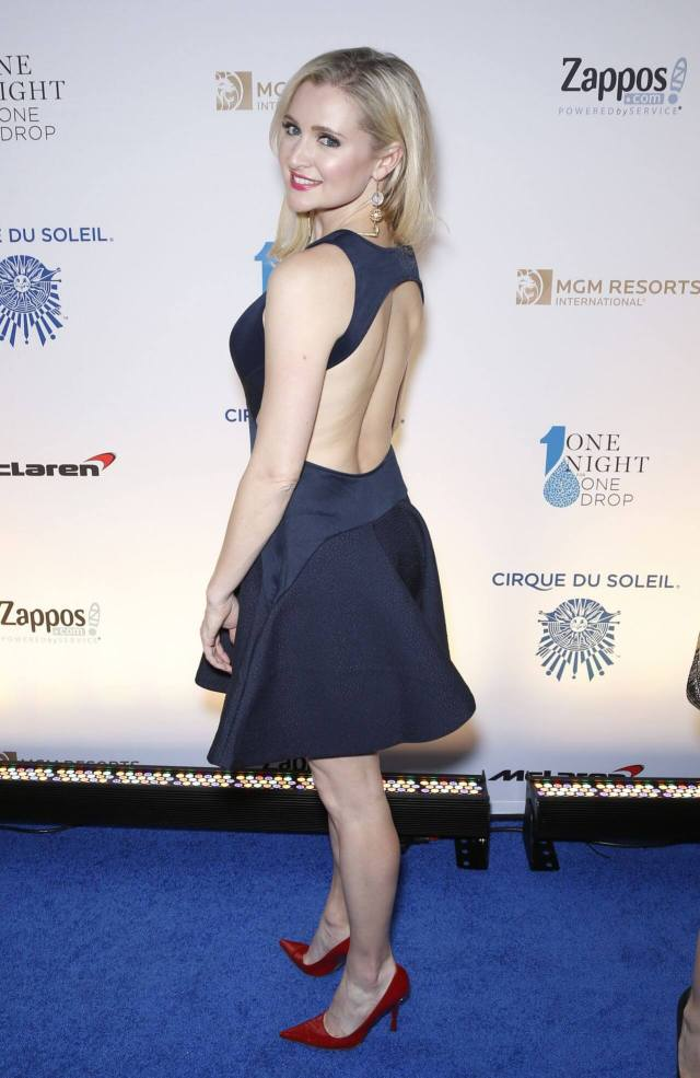 Katherine Bailess sexy backless