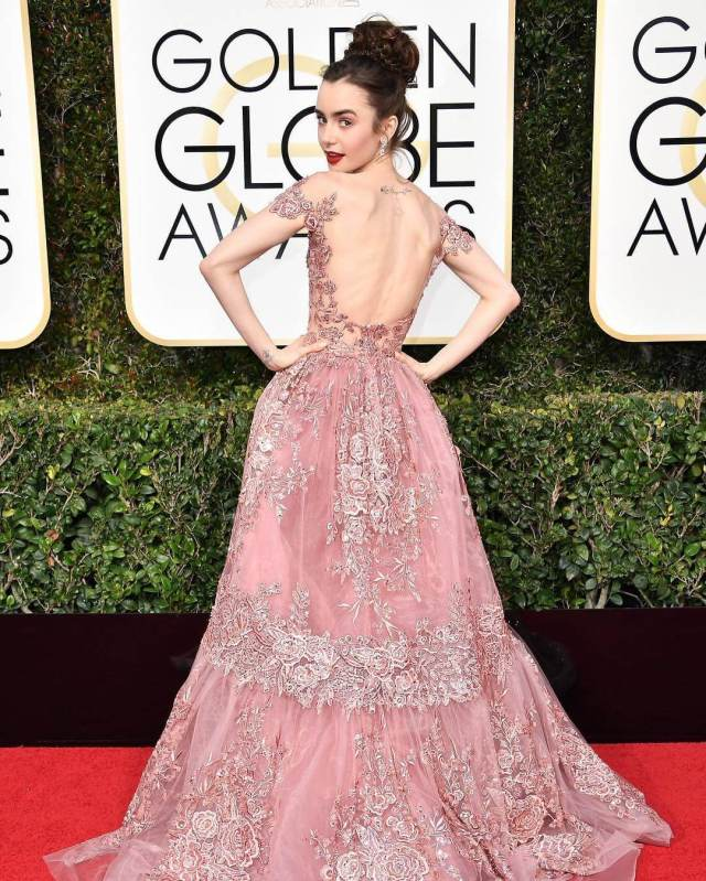 Lily Collins beautiful pic