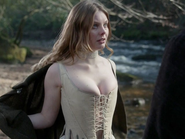 Nell Hudson hot cleavage pic