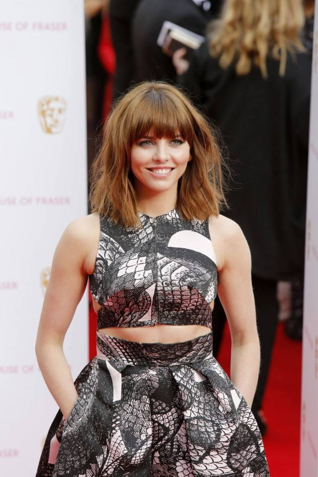 Ophelia Lovibond hot busty photo