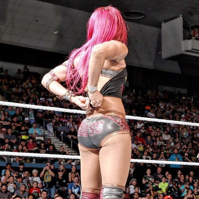 Sasha Banks hot ass pic