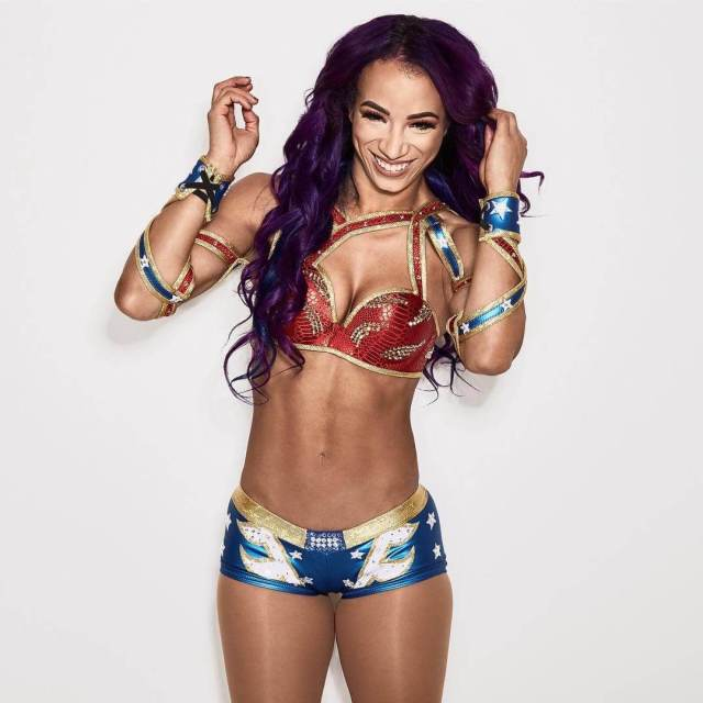 Sasha Banks sexy photos