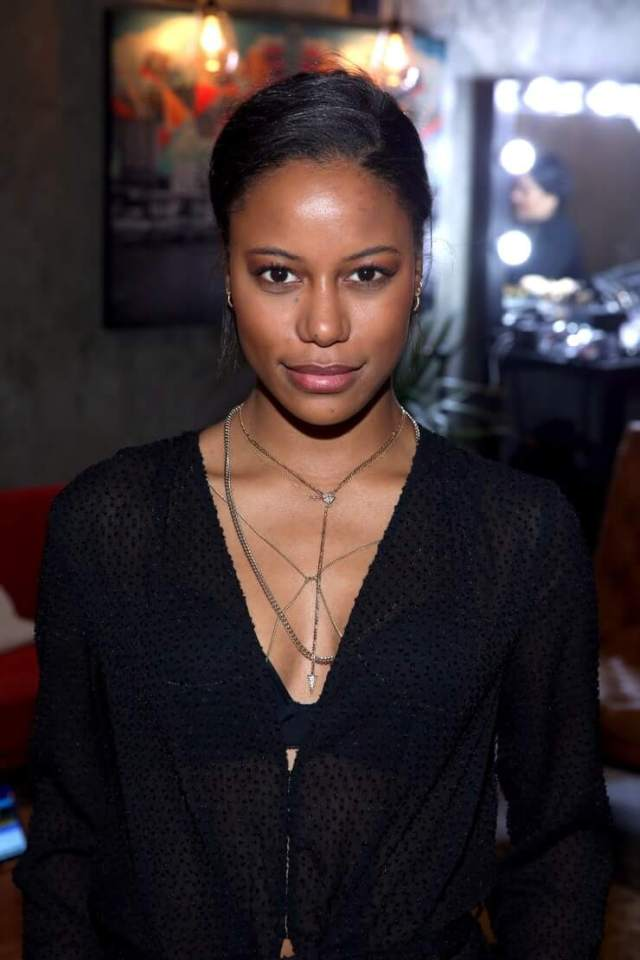 Taylour Paige hot cleavage
