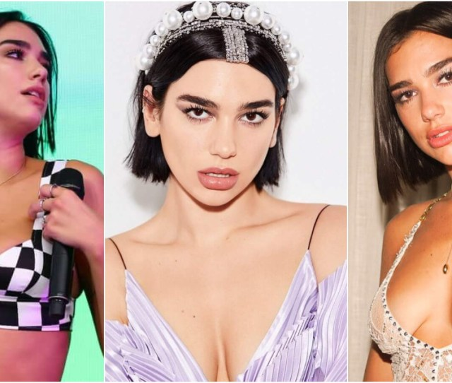 Sexy Dua Lipa Boobs Pictures Will Make You Want Her