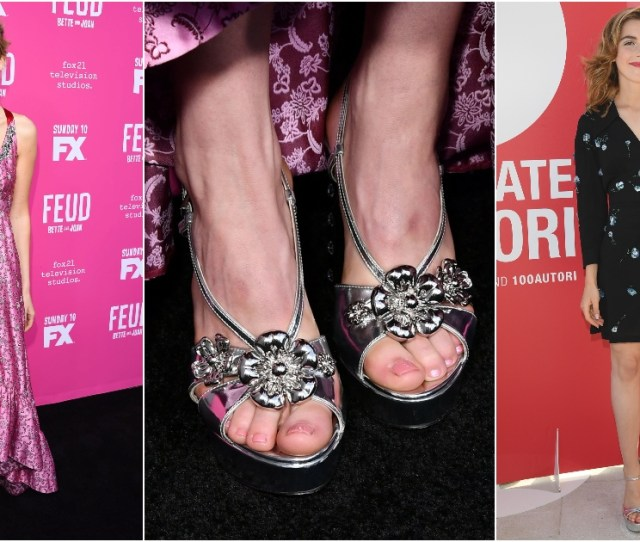 Sexy Kiernan Shipka Feet Pictures Are Delight For Fans