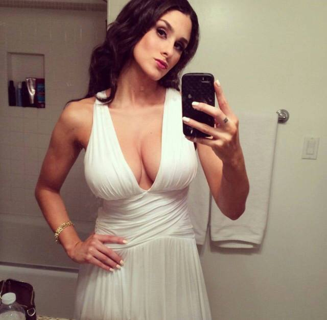 Brittany Furlan sexy cleavage pics