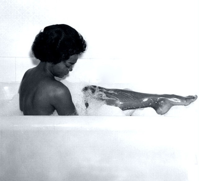 Eartha Kitt near-nude