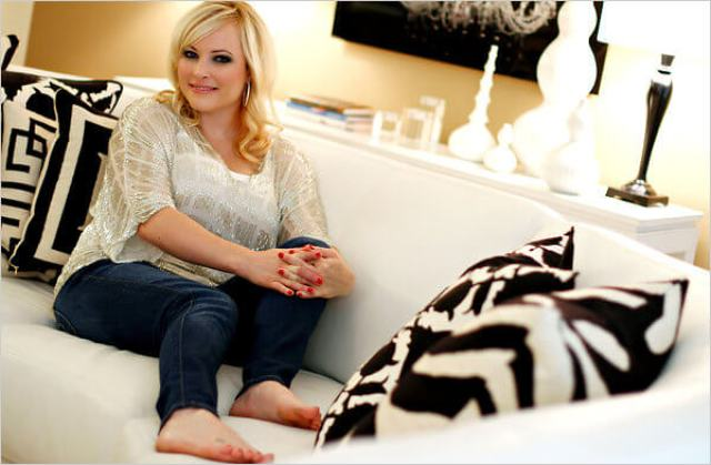 Meghan McCain sexy feet picture