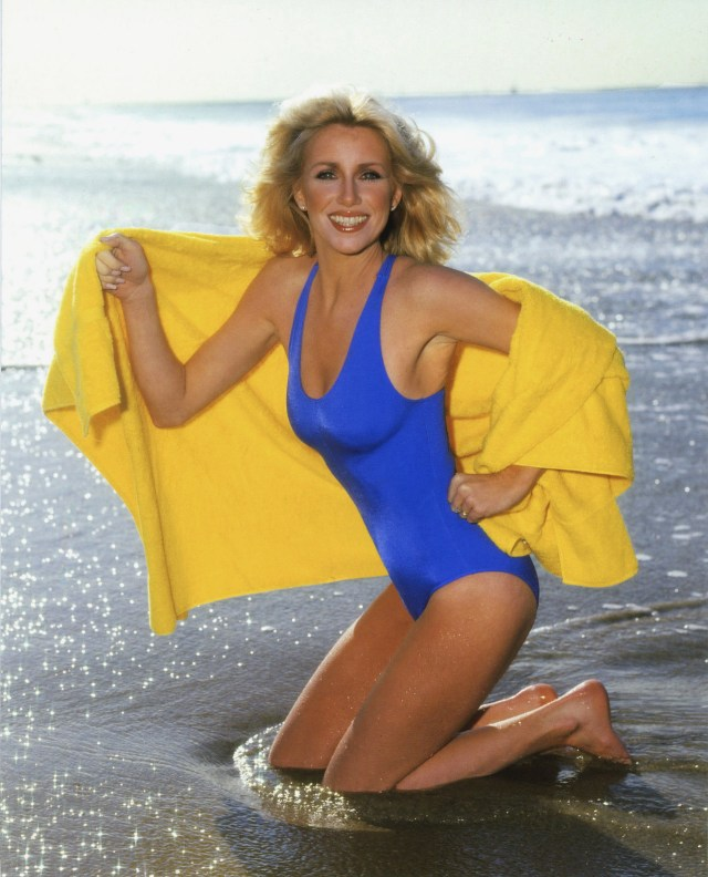 Suzanne Somers swimsuit