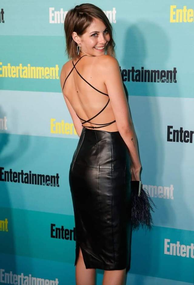 Willa Holland sexy butt pictures