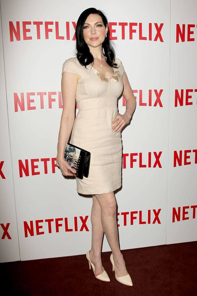 laura prepon Sexy Toes