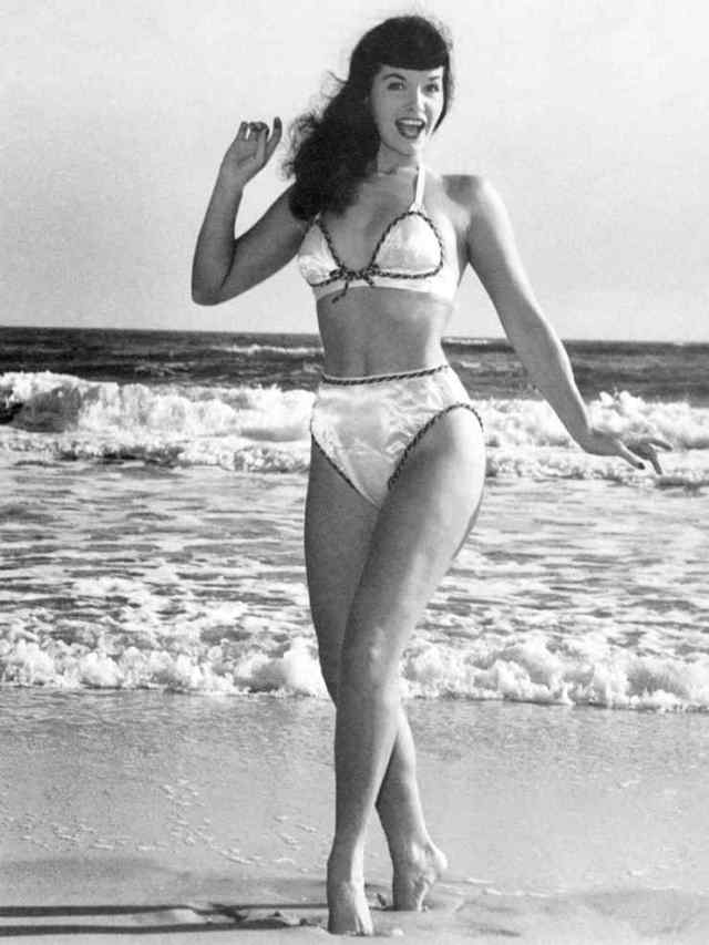 Bettie Page smile