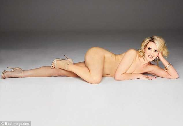 Claire Richards near nude (1)