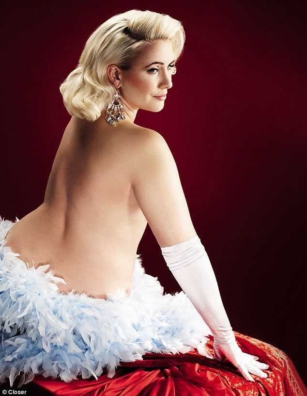 Claire Richards topless