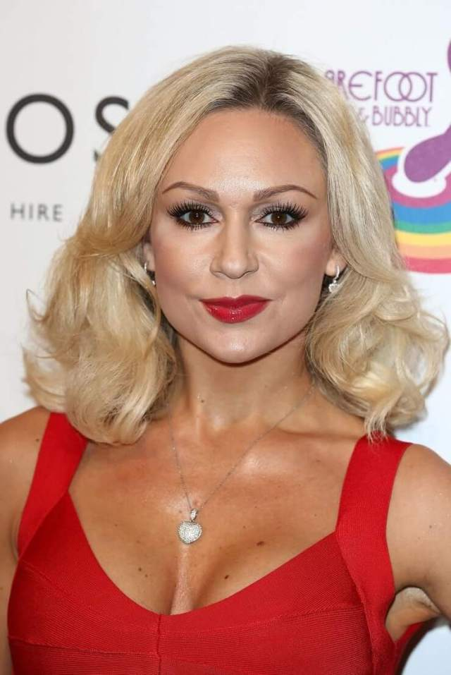 Kristina Rihanoff sexy busty pictures