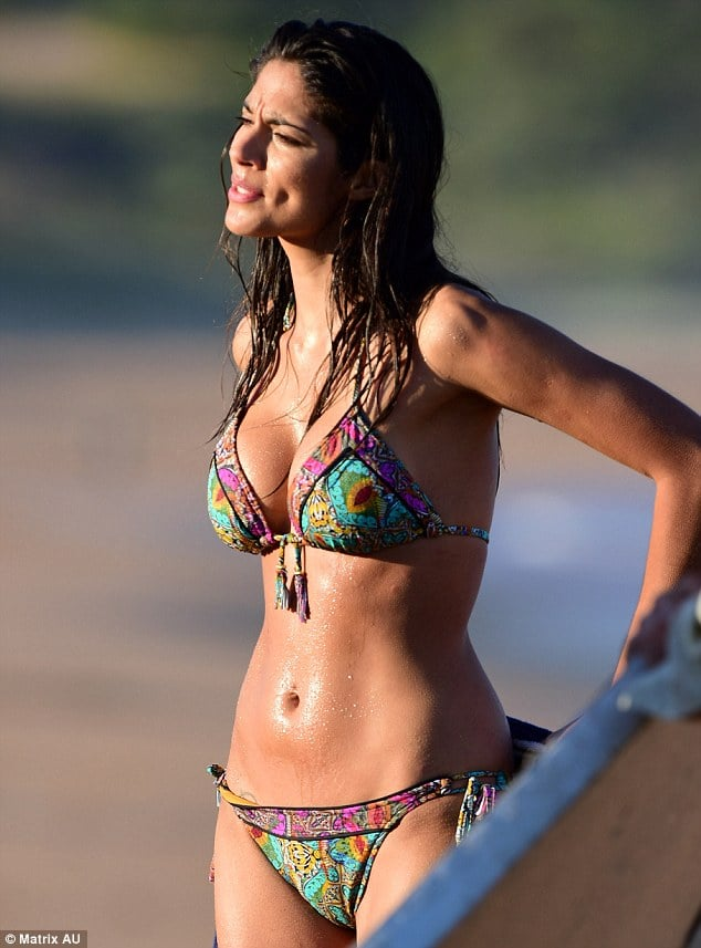 Pia Miller hot side pic