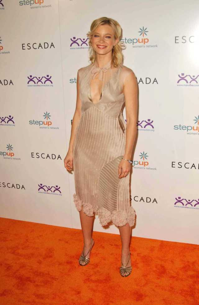 Amy Smart hot side boobs pictures