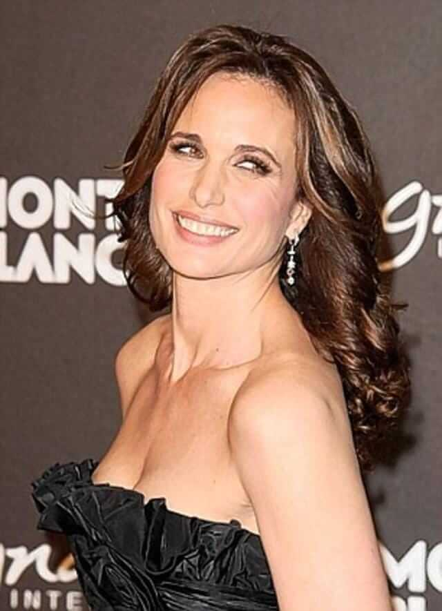 Andie MacDowell awesome