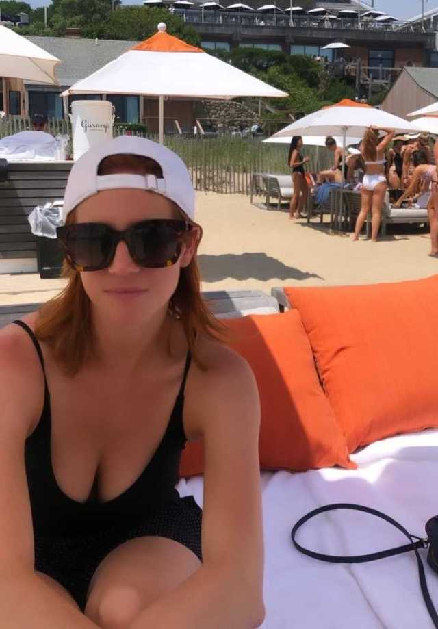 Brittany Snow cleavage pics