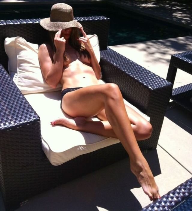 Daisy Fuentes topless