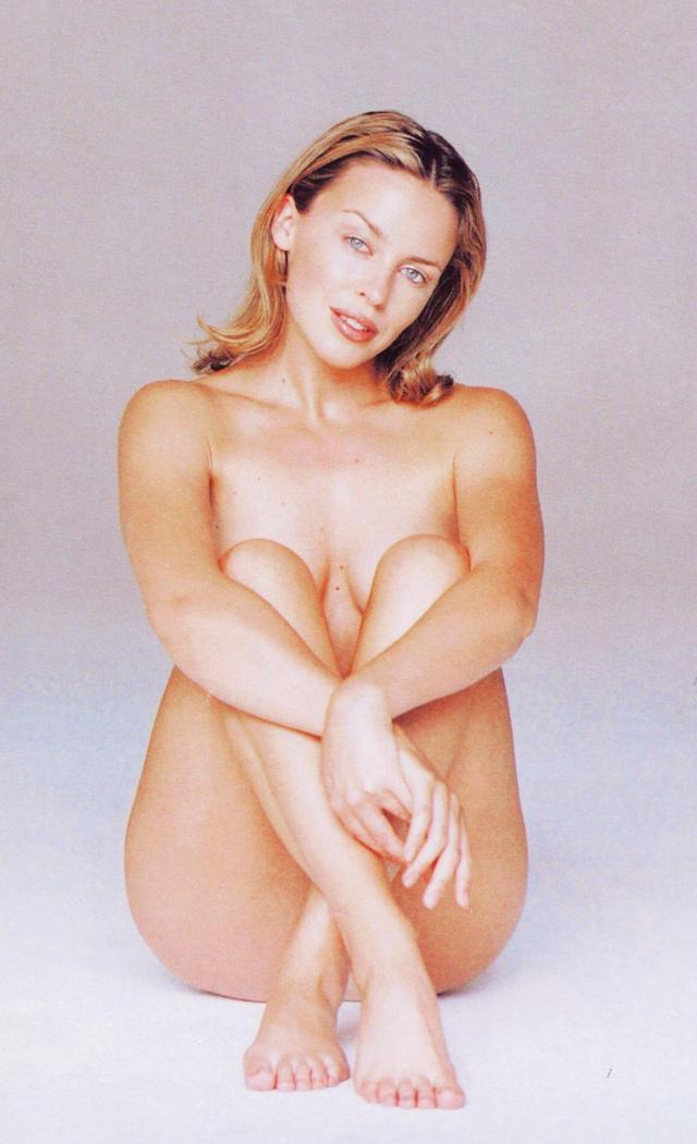 Kylie Minogue naked