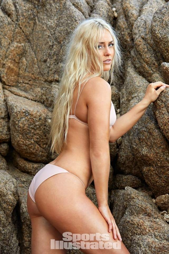 Lindsey Vonn sexy booty picture