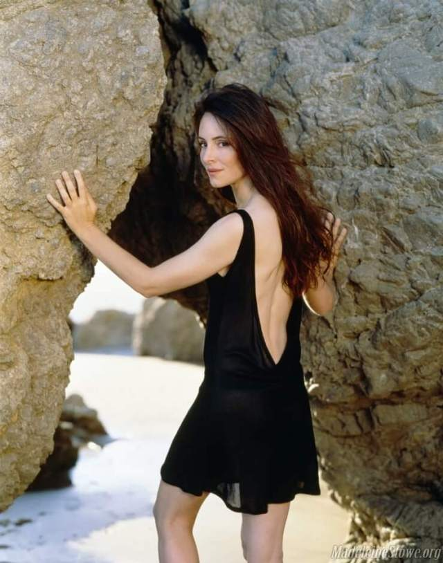 Madeleine Stowe backless