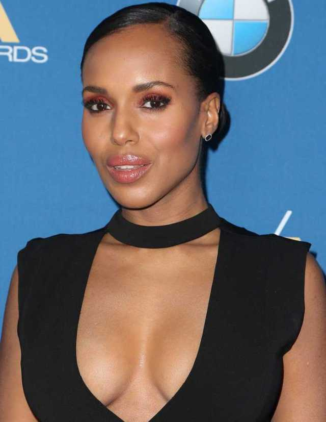 Kerry Washington ig boos pics