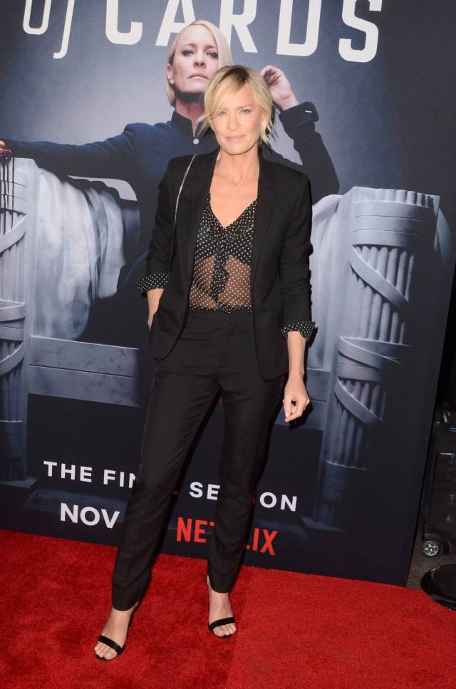 Robin Wright cleavage