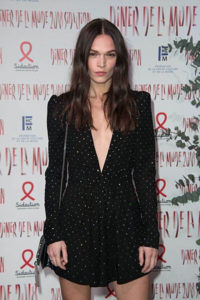 Anna Brewster sexy cleavage pics
