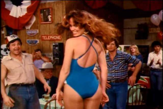Catherine Bach sexy butt pic