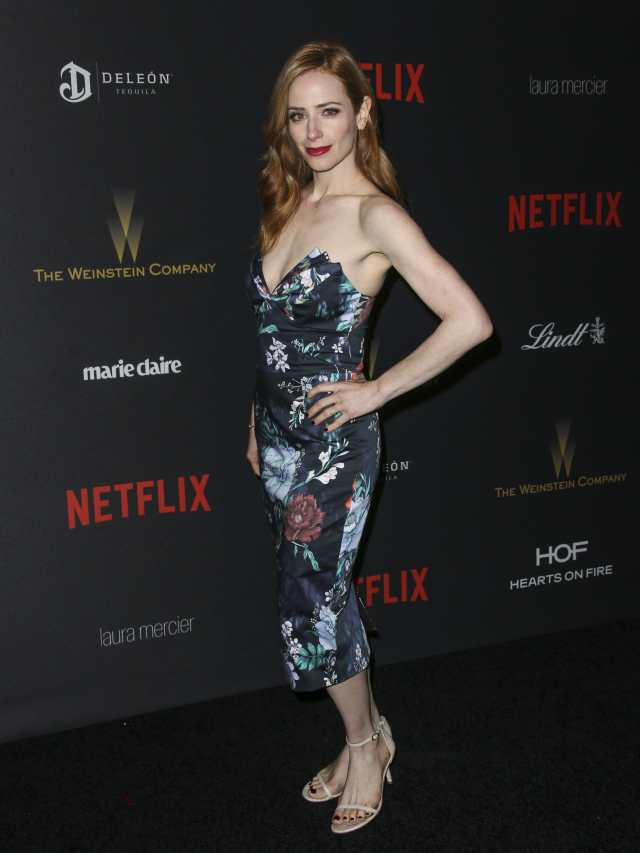 Jaime Ray Newman side boobs
