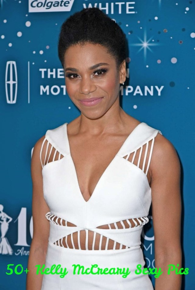 Kelly McCreary hot cleavage pics