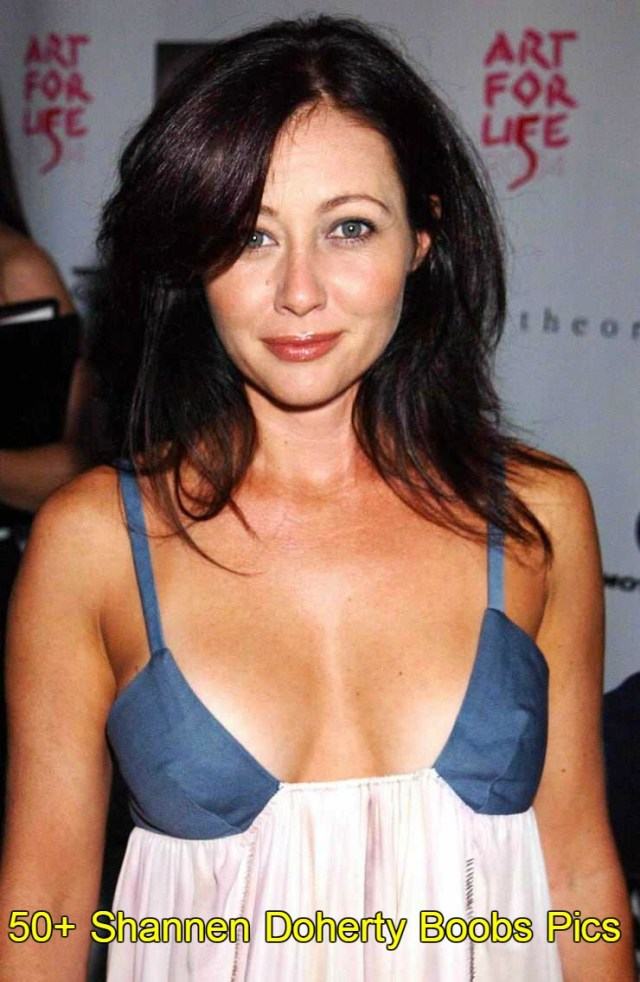 Shannen Doherty hot boobs pics