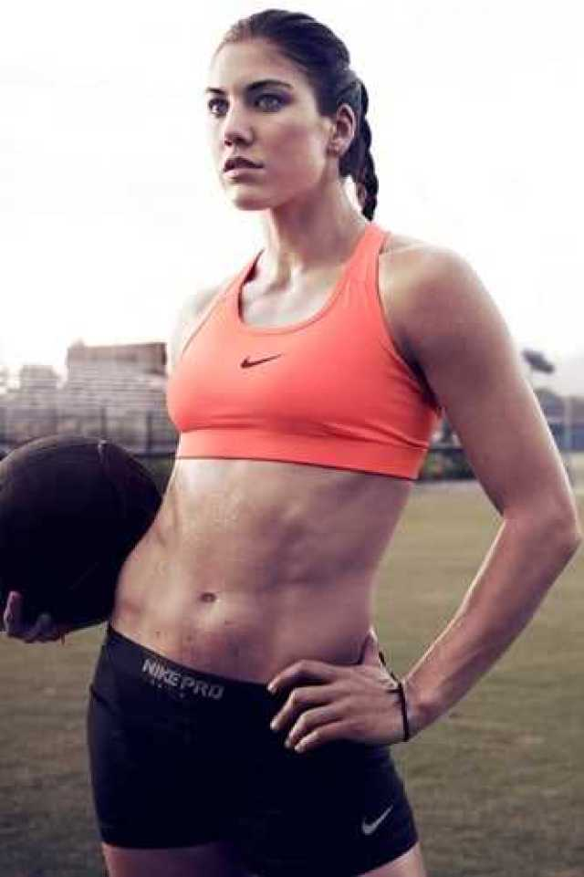 Hope Solo hot look