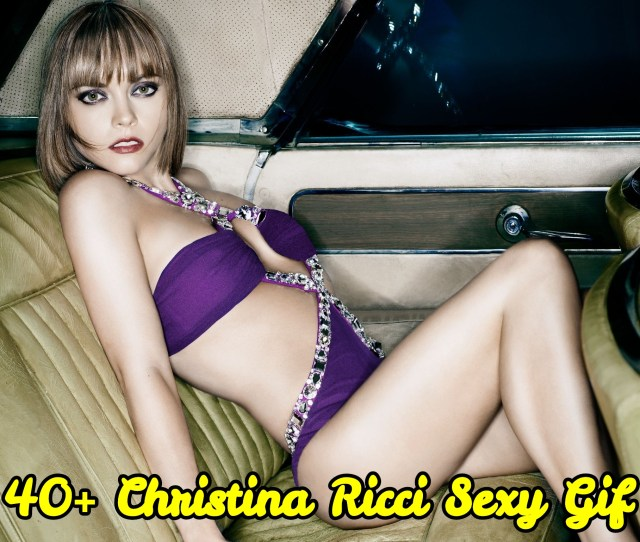 Sexy Gif Of Christina Ricci Are Genuinely Spellbinding And Awesome