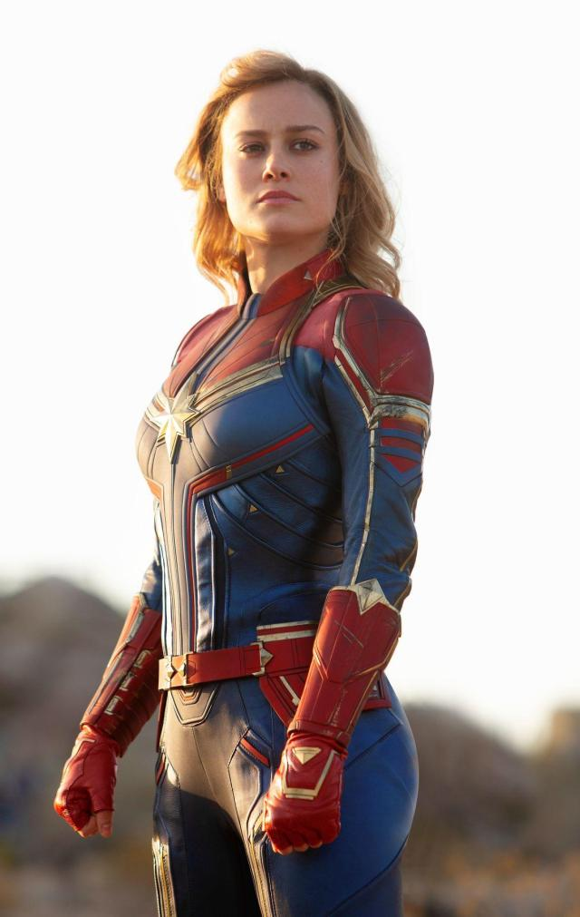 70+ Hot Pictures Of Captain Marvel Will Make Your Wait For