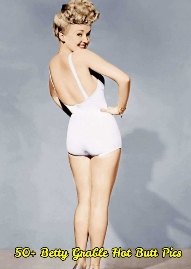 Betty Grable ass pictures