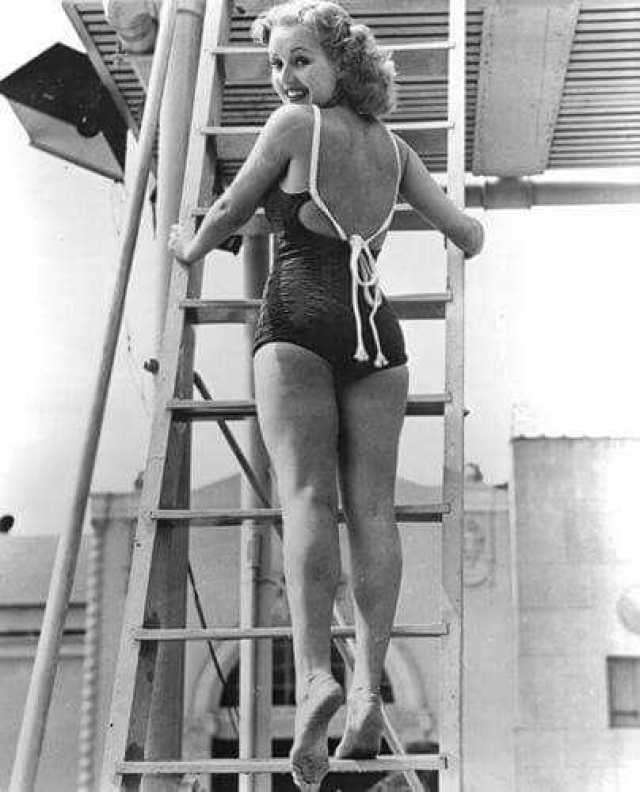 Betty Grable big booty