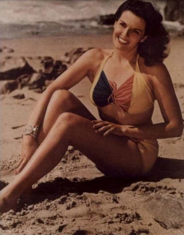 Jane Russell thigh pics