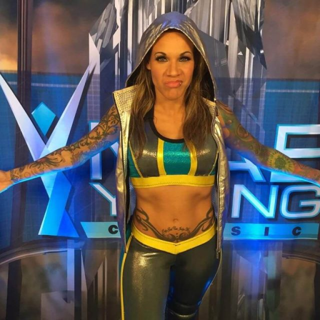 Mercedes Martinez cleavages pic