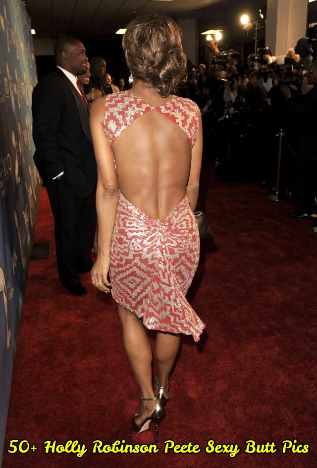 Holly Robinson Peete Sexy Butt Pics