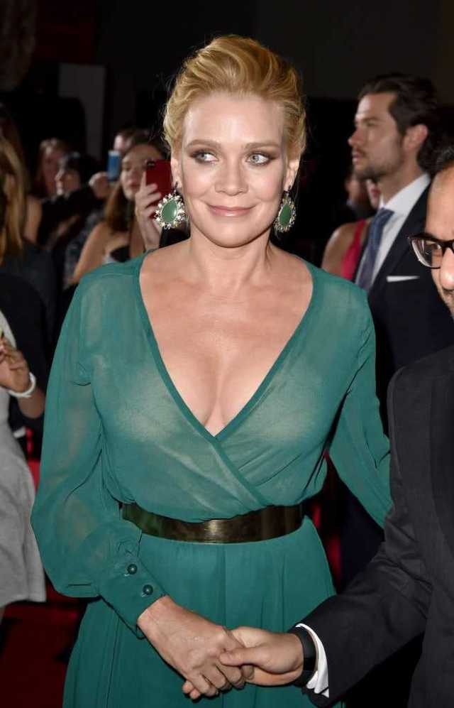 laurie holden hot cleavage