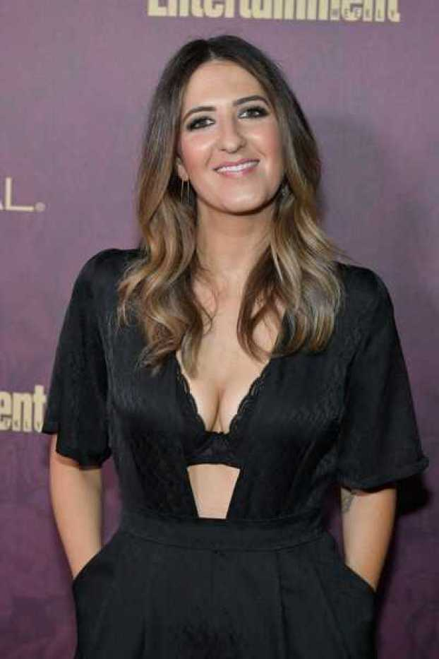 D'Arcy Carden sexy cleavage pic