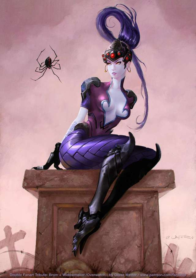 widowmaker big boobs
