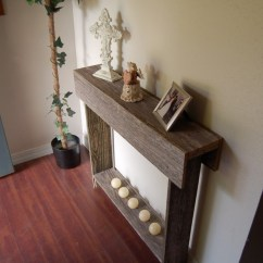 Build A Rustic Sofa Table Best Material For With Cats 18 Console Ideas Of Diy