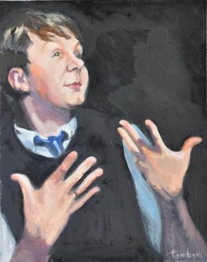 """Michael Whitham, actor """"Eight"""" Best of Edinburgh Award winner, 2008"""