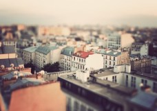 Miniature Paris - Fine Art Photography (8 x 12 print)