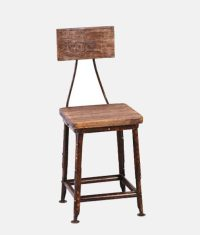 Reclaimed Wood Chair - Industrial Furniture, Reclaimed ...